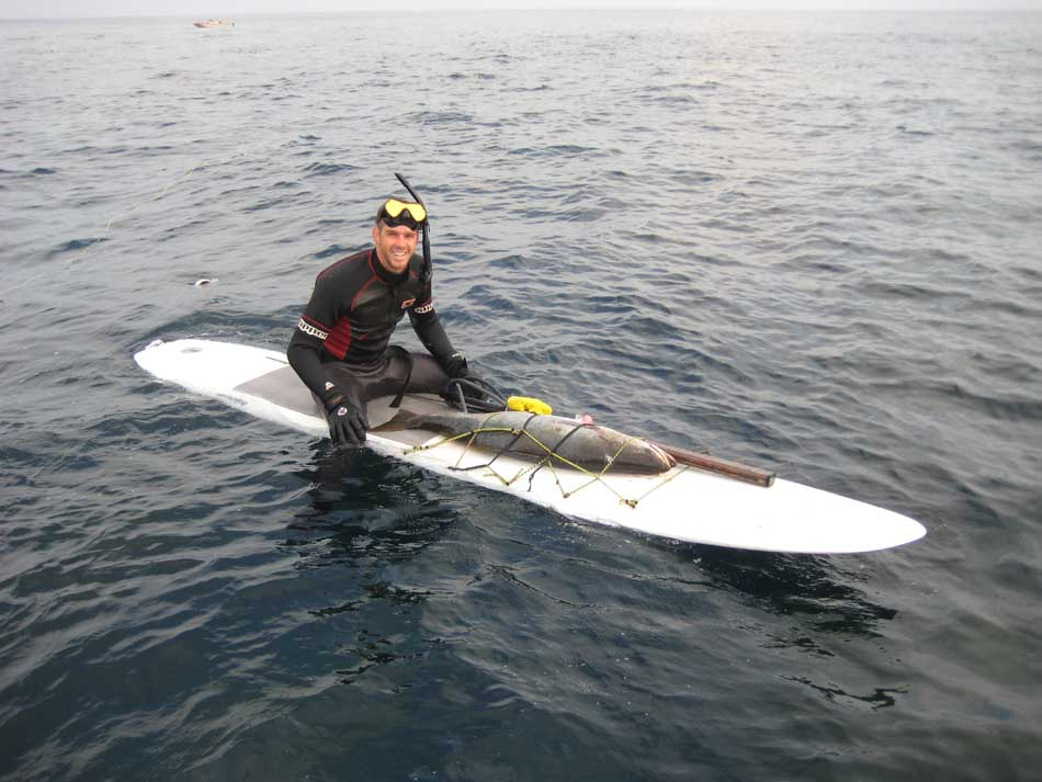 Windsurf Board as a dive boat??? - Spearboard com - The