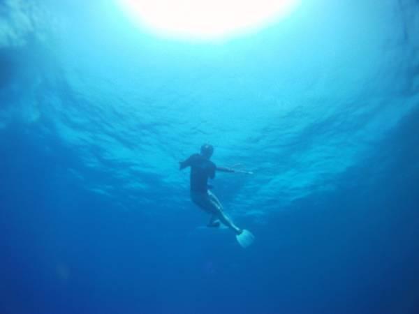Cozumel - blue water